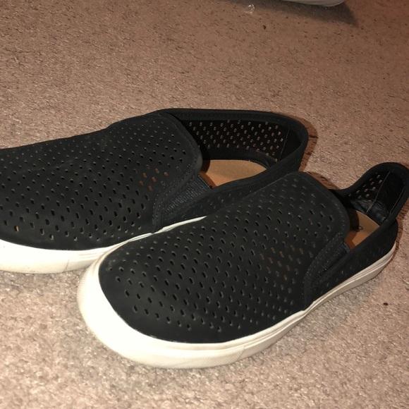 Tru Shoes   Black Slip Ons   Poshmark